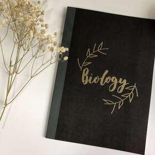 personalised muji notebooks!