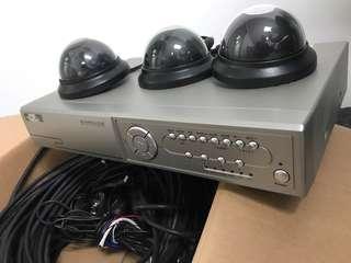 CCTV and DVR system (3 x CCTV)