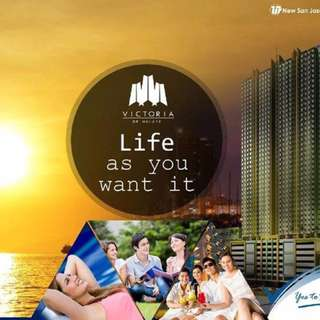 Condo ba? Victoria de malate 5k lang monthly 15k lang reservation fee! call or text 09353238877 for more details!