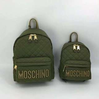 Moschino Backpack 黑色🎒🎒