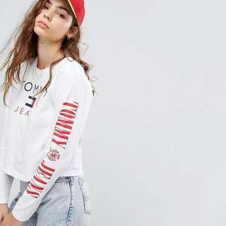 Tommy Jeans Capsule Cropped Top