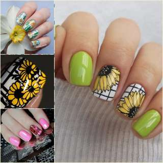 Hotsale Girl Pattern Nail Art Image Stamp Stamping Plates Manicure Template Beautiful Flowers For DIY Nail Stamp
