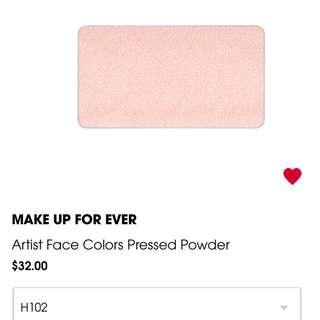Makeup forever ARTIST FACE COLOR   FACE POWDER
