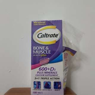 Caltrate Bone & muscle health plus