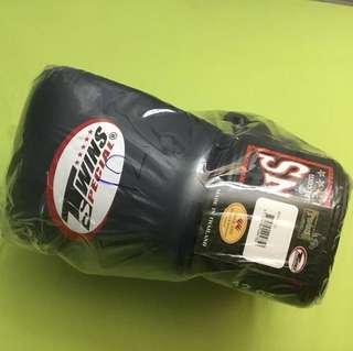 Twins Special Muay Thai Gloves (Navy Blue)