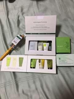 Innisfree & Nature Republic starter kit