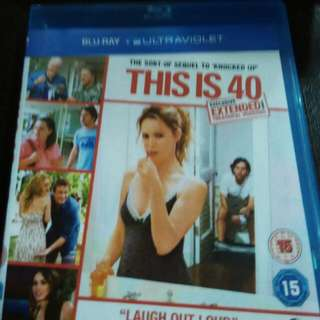 This is 40 Blu Ray movie