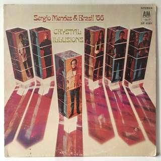 Sérgio Mendes & Brasil '66 – Crystal Illusions (1969 USA Original - Vinyl is Excellent)