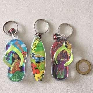 Hawaii Souvenir Keyrings