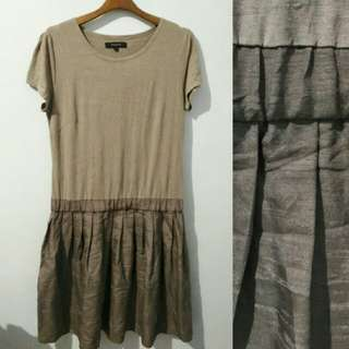 Hazelnut Rejoove Dress