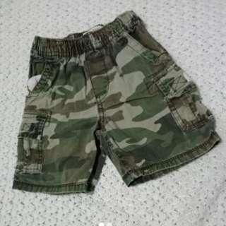 Est 1989 place camouflage short 3t