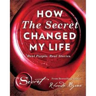 eBook - How The Secret Changed My Life by Rhonda Byrne