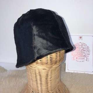 Vintage Prada Fur Cloche Hat (Wifey Maternity Sale)