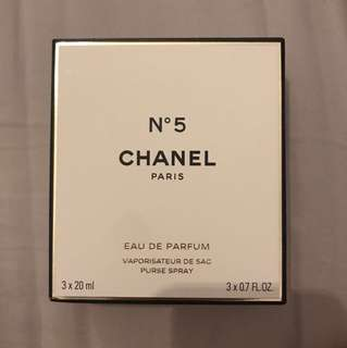 Chanel N5 Eau De Parfum / Perfume 20ml Travel Size