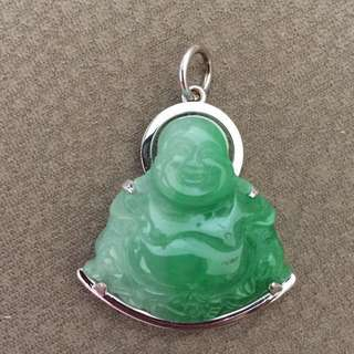 AUTHENTIC Laughing Buddha Jade