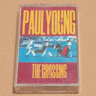 Paul Young - The Crossing Audio Cassette - Brand New and Sealed