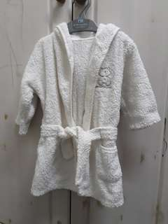Mothercare bath robe