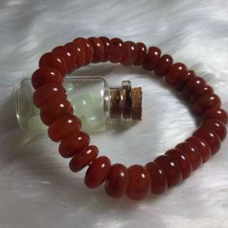 【INSTOCK】南红玛瑙手链Agate 玛瑙盘珠随