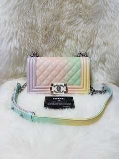 Chanel Boy Rainbow