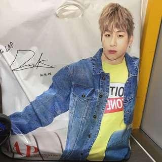 Instock Official LAP KOREA WANNA ONE KANG DANIEL BIG SIZE CARRIER