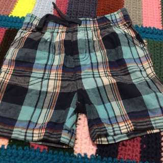 Jumping jeans blue checkered short