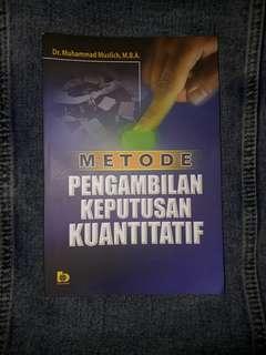 Metode Pengambilan Keputusan Kuantitatif