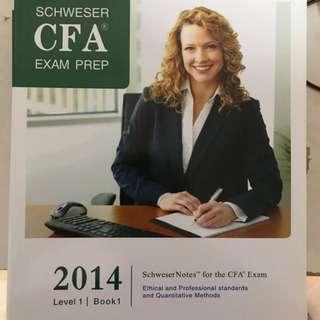 CFA Level 1 Text book