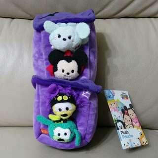 迪士尼萬聖節迷你版tsum tsum 米奇米妮高飛布魯托 disney halloween edition mickey minnie