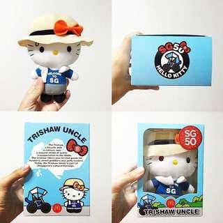 SG50 Hello Kitty Trishaw Uncle!