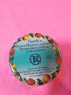 購自泰國Smith's lip balm潤唇膏