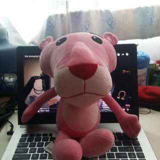 Pink Panther Soft Toy
