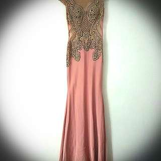 Beautiful pink blush gown