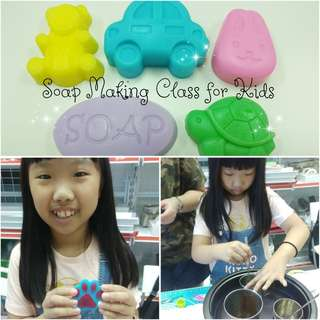 Soap Making Class for Kids Affordable Useful Children Holiday Activiry