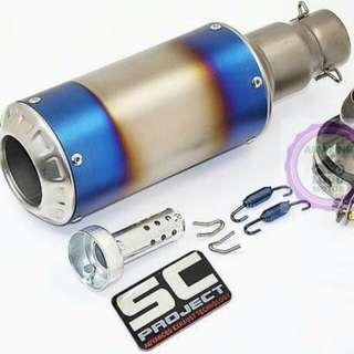 SC Project Ekzos Muffler Motor Exhaust