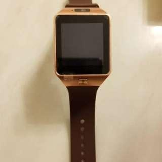 全新Smart watch 智慧型手錶 (金色)
