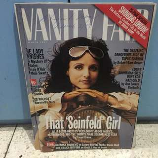 Vanity Fair March 1997: That Seinfeld Girl