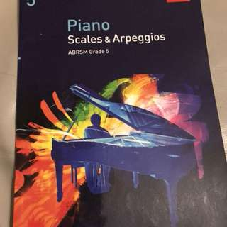 Abrsm grade 5 Piano scales