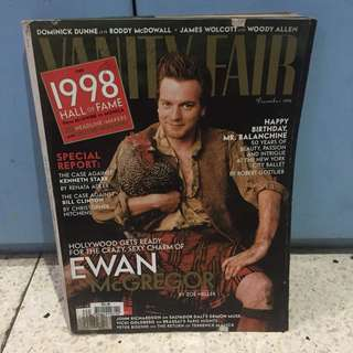 Vanity Fair Dec 1998: Ewan McGregor