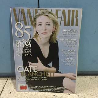 Vanity Fair March 1999: Cate Blanchett