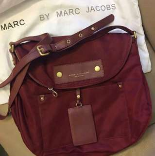 Marc by Marc Jacobs Preppy Nylon Sasha Cross Body Bag 斜咩袋