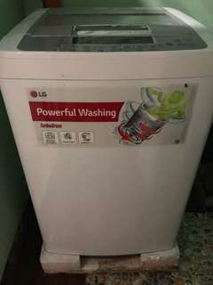 LG washing machine 8kg turbo