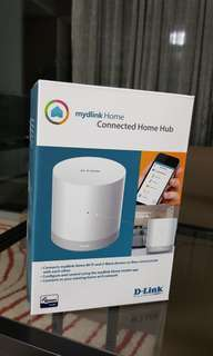 myDlink home connected home hub