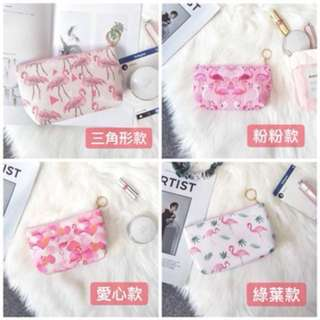 🚚 紅鶴化妝包 4款 質量超好超可愛💗💗