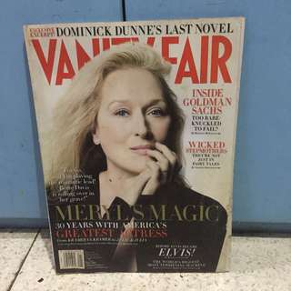 Vanity Fair Jan 2010: Meryl Streep