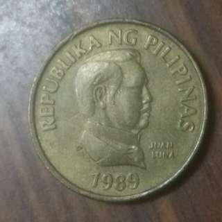 1989年菲律賓25分
