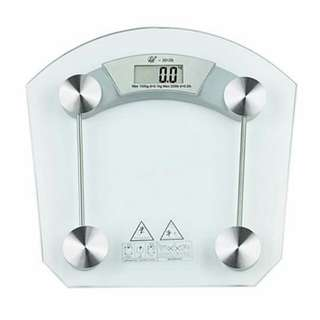 Personal glass scale