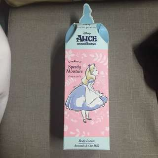 cute press alice the wonderland body lotion