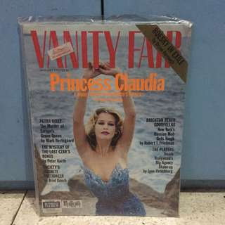 Vanity Fair Jan 1993: Princess Claudia