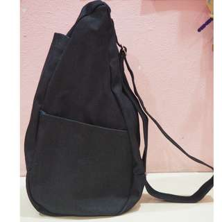 Dark Blue Jeans Convenient One Strap Bagpack