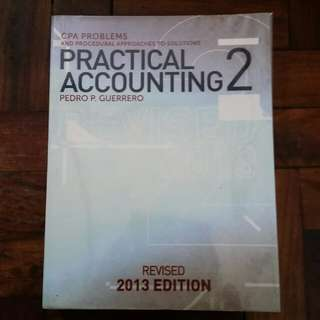 CPA Reviewer: Practical Accounting 2 - Pedro P. Guerrero